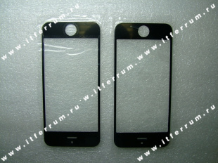 Apple Iphone 5 front lens black