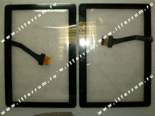 Samsung P5110/P5100 Digitizer+black(with samsung logo)